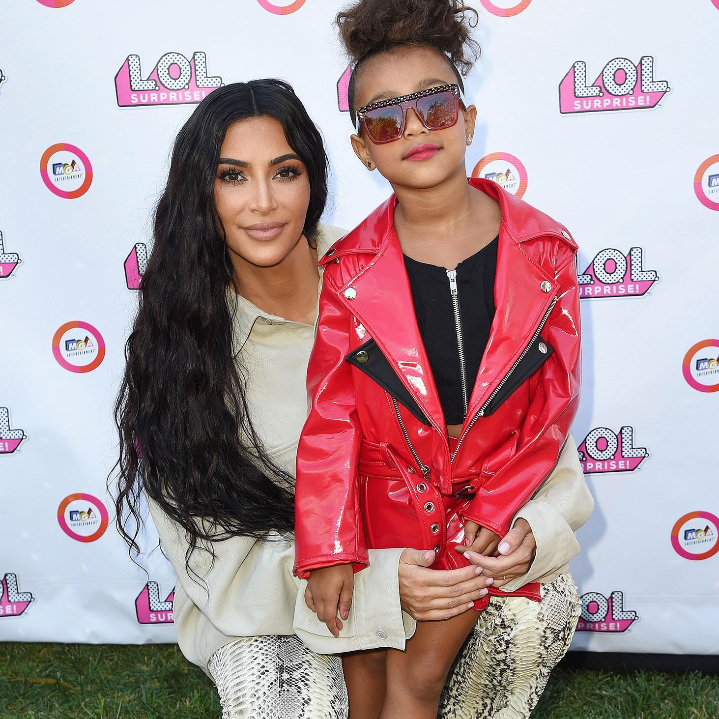 Kim Kardashian West, North West, Runway, LOL Surprise