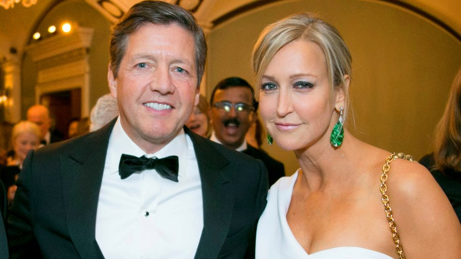 Lara Spencer, Rick McVey, Wedding