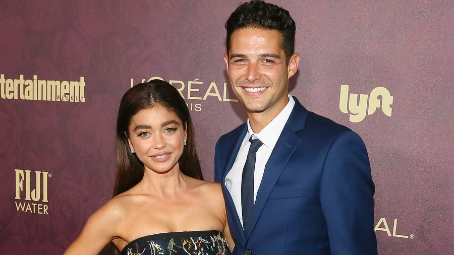 Sarah Hyland, Wells Adams, Entertainment Weekly, Pre-Emmy Party