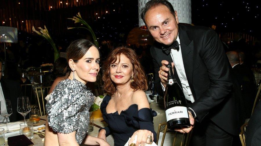 Susan Sarandon, Sarah Paulson, Matteo Lunelli, Emmys, Drinks