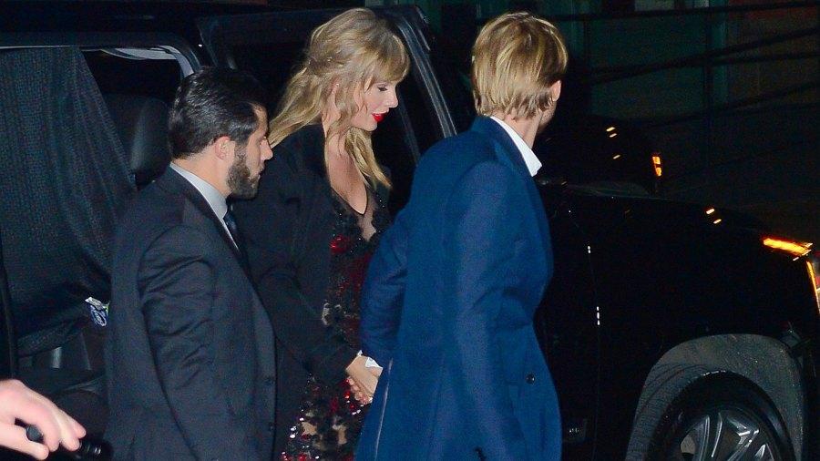 Taylor Swift, Joe Alwyn, Holding Hands, New York