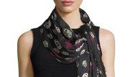 alexander mcqueen scarf on sale