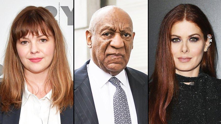 Amber Tamblyn Bill Cosby Debra Messing Reactions
