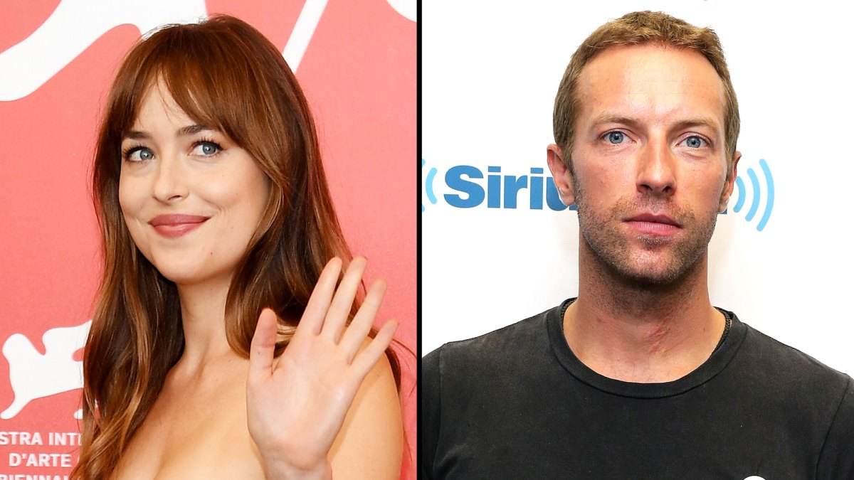 Dakota Johnson And Chris Martin Sport Matching Infinity Sign Tattoos