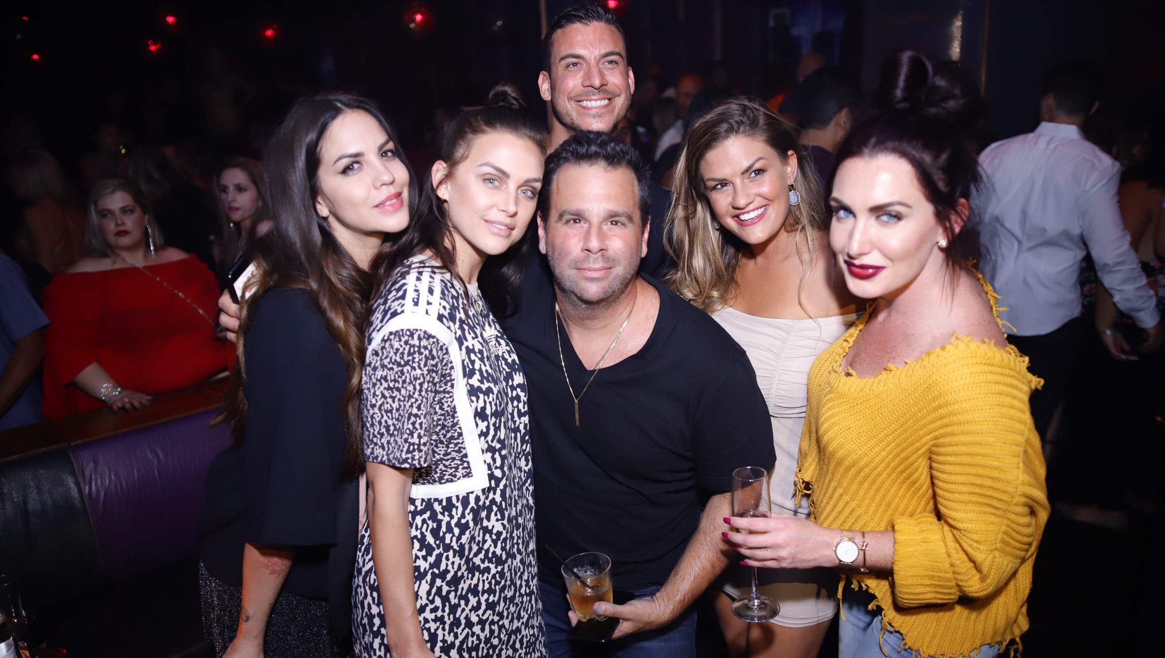 Lala Kent and Randall Emmett celebrated their engagement in Las Vegas on September 2, 2018