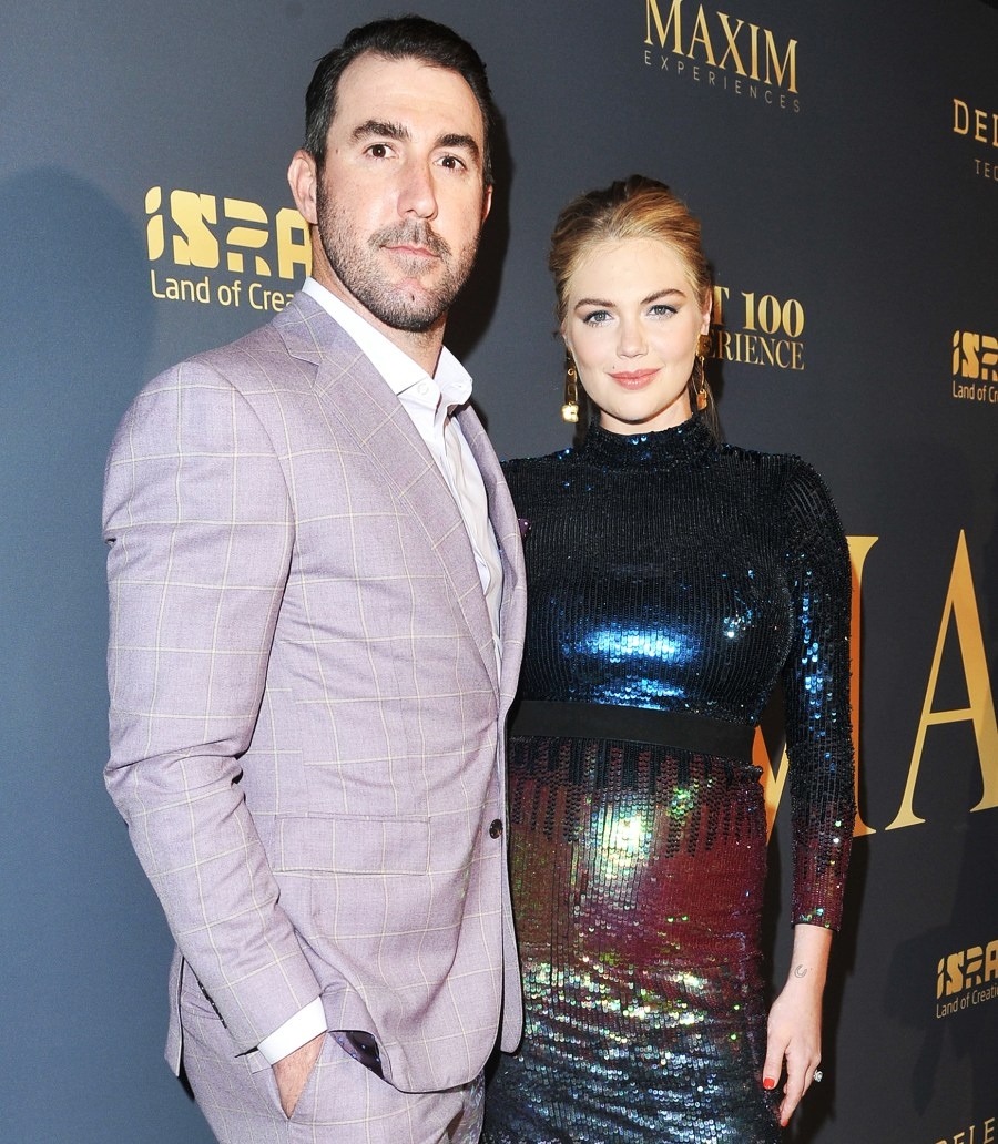 Justin Verlander Kate Upton, welcome to the first child