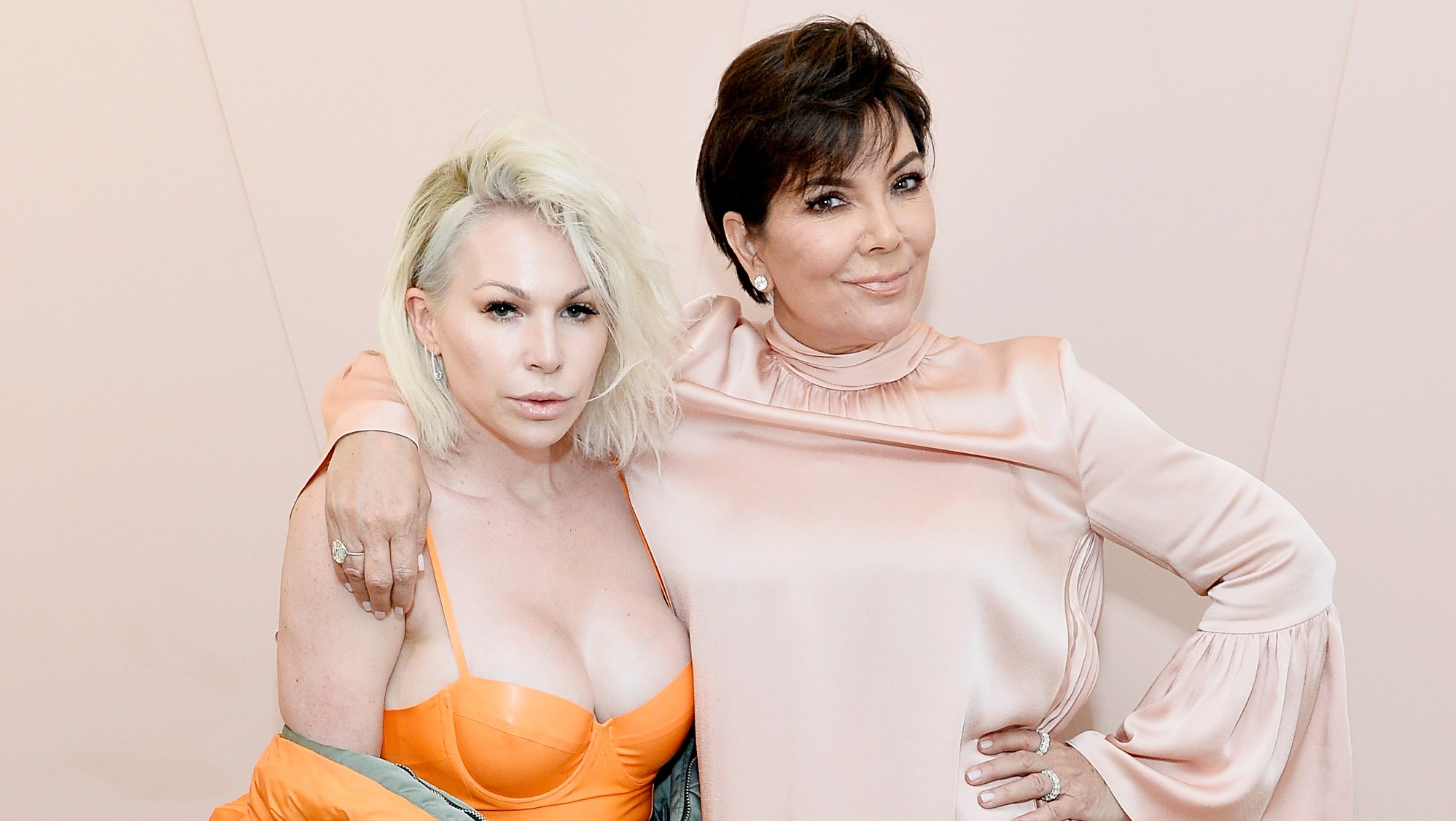 Joyce Bonelli and Kris Jenner