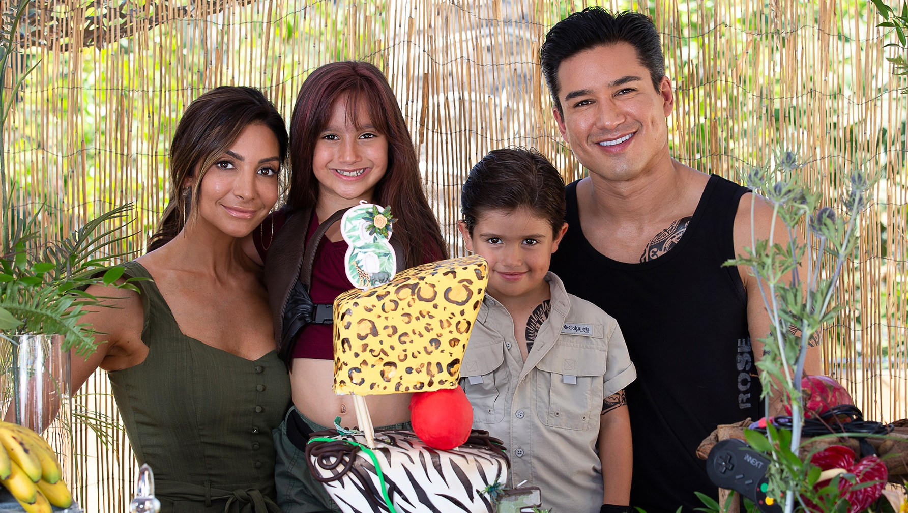mario lopez childrens birthday party