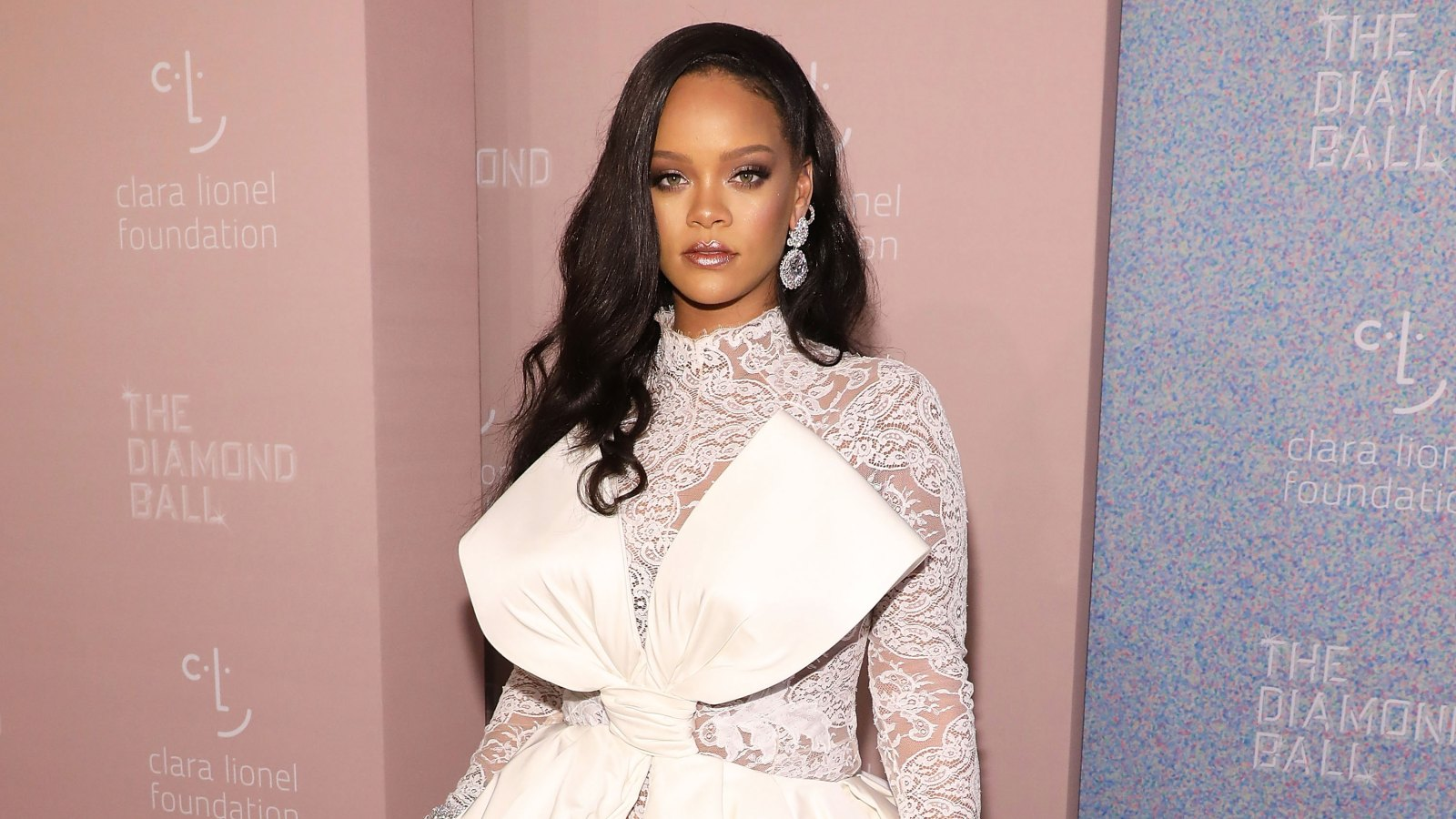 9955d8e17 Rihanna's Diamond Ball 2018 Red Carpet: See Celeb Dresses, Gowns