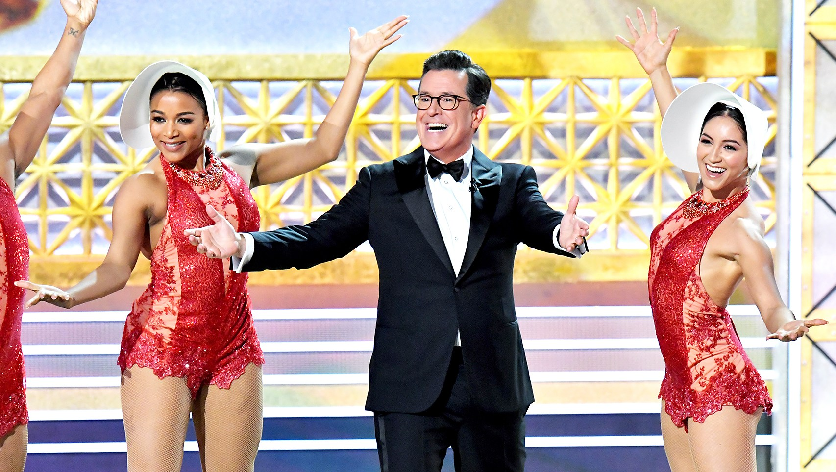 Stephen Colbert Emmys Awards Host 2017