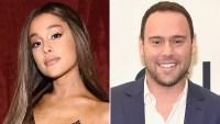 Ariana Grande, Scooter Braun