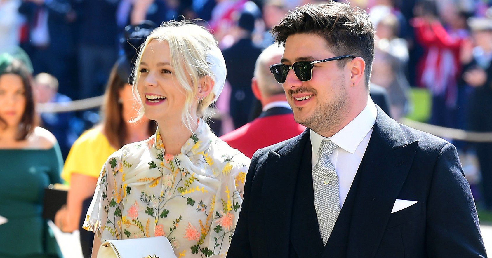 Carey Mulligan Reacts to Pal Prince Harry's Baby News: Watch!