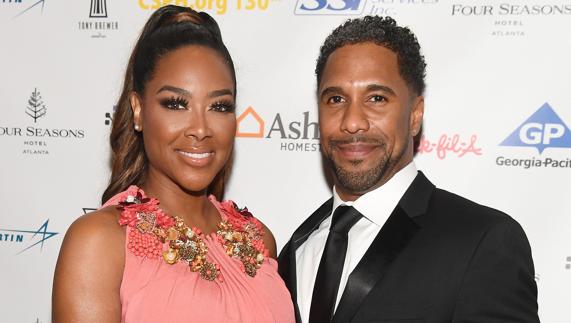 Kenya Moore, Marc Daly, Baby Shower