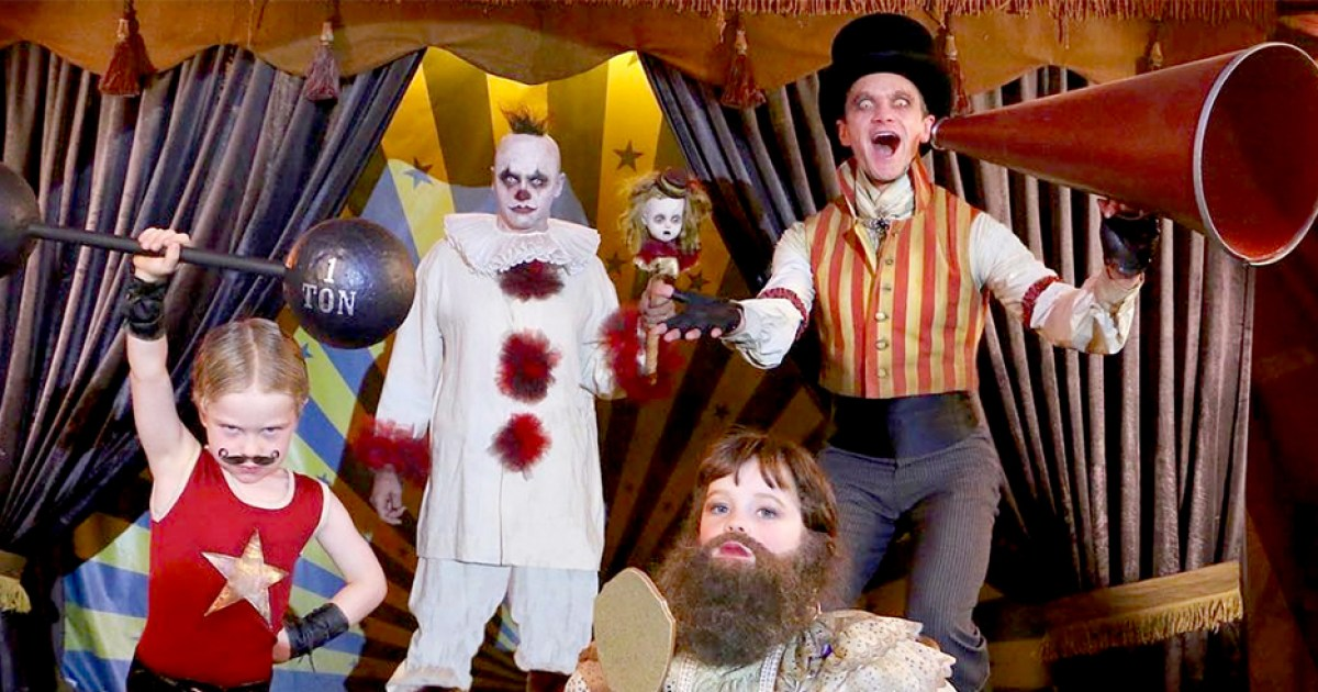 Neil Patrick Harris' Family Halloween Costumes: Pics