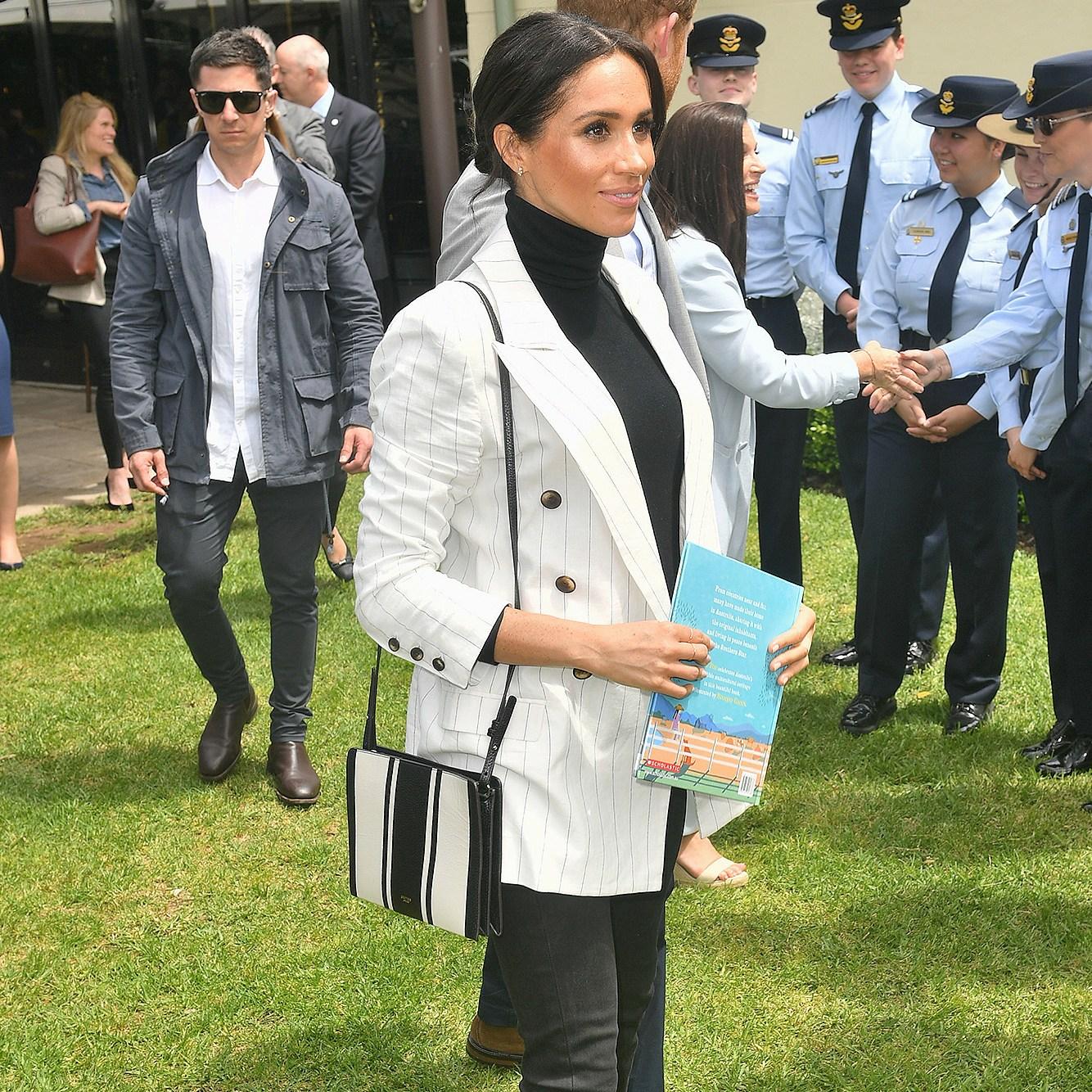 Prince Harry, Duchess Meghan Markle, Royal Tour, Australia, Maternity Style, Fashion