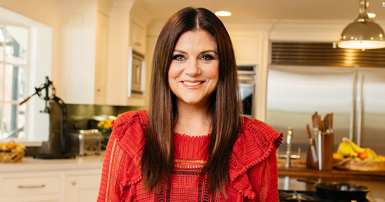 Tiffani Thiessen Shows Us Her 'Favorite' Room and Makes Her Mom's Cream Cheese Pie