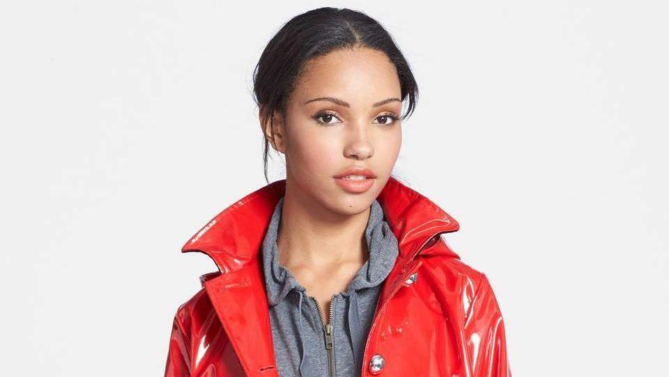 Jane Post raincoat