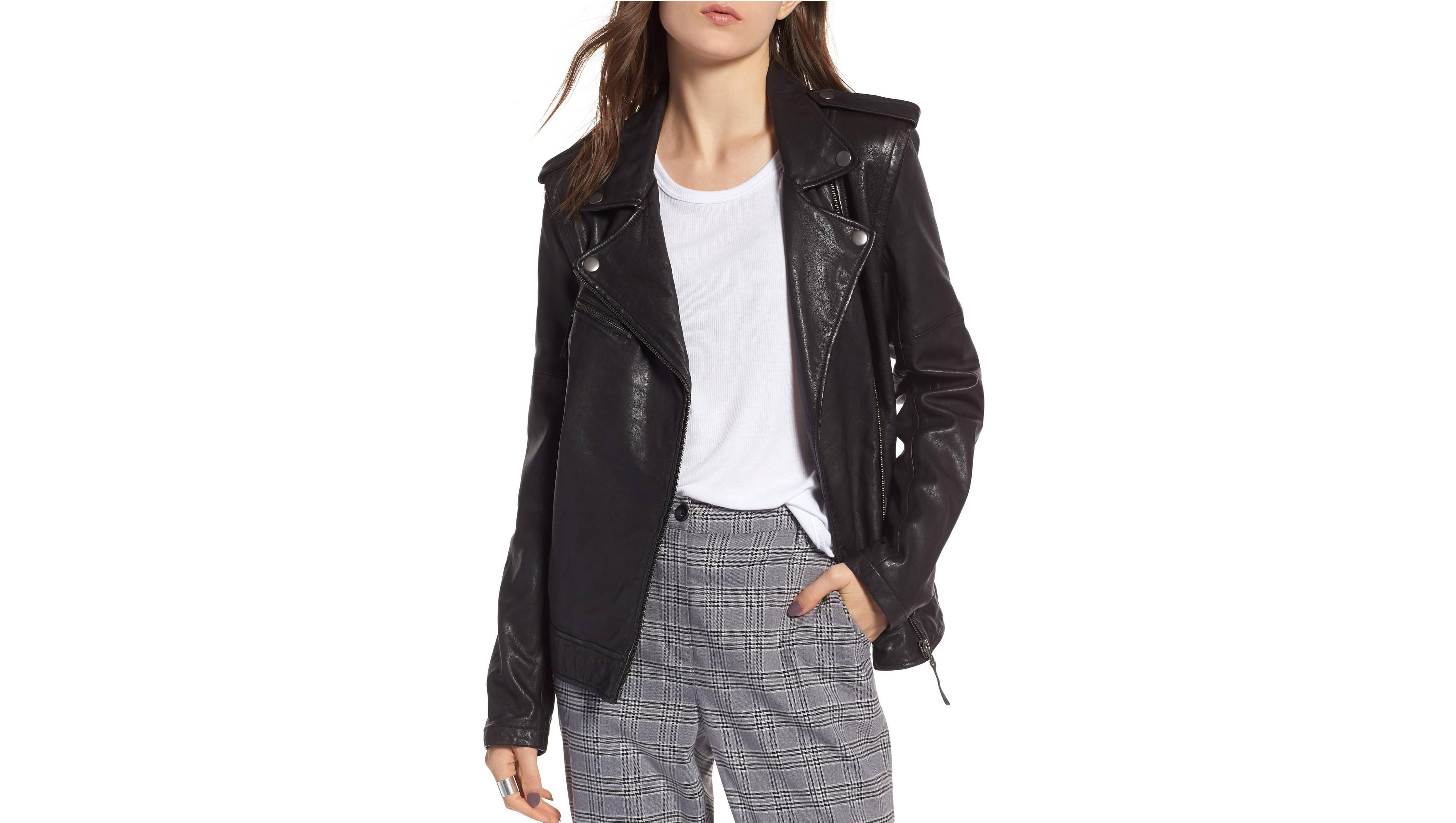 treasurebond leather jacket