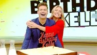 Ryan Seacrest and Kelly Ripa