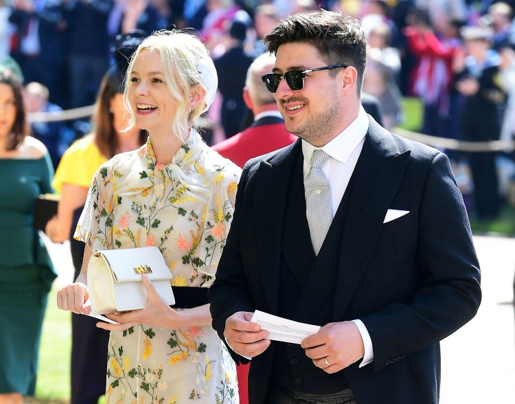Carey Mulligan Marcus Mumford Royal Wedding Tweets