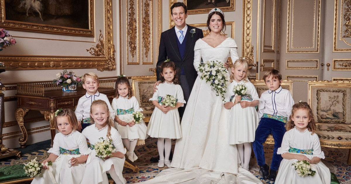 See Princess Eugenie and Jack Brooksbank's Official Wedding Portraits