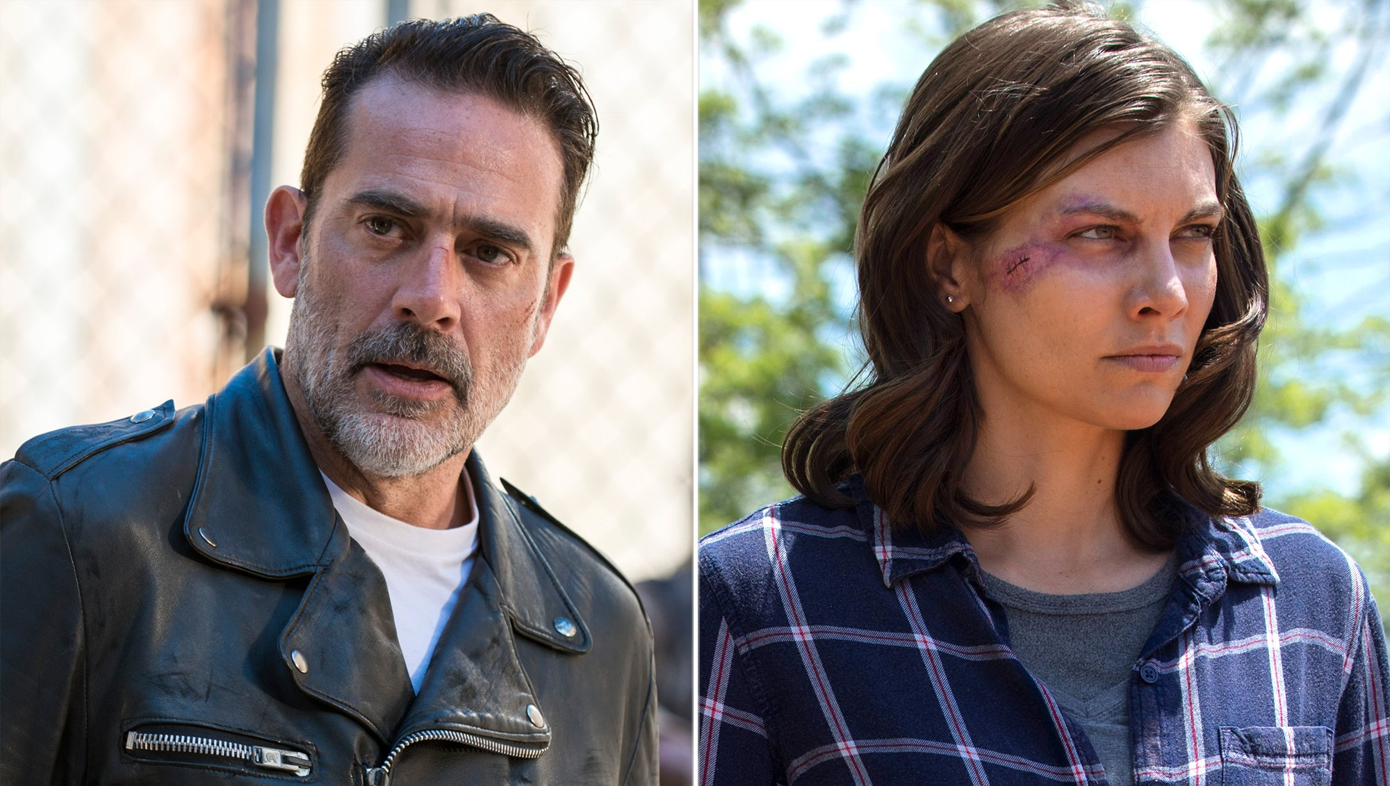 Negan and Maggie Rhee