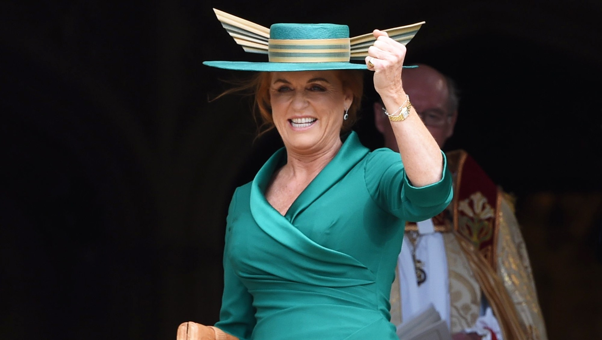 Sarah Ferguson Breathes a Huge Sigh of Relief at Daughter Princess Eugenie's Wedding