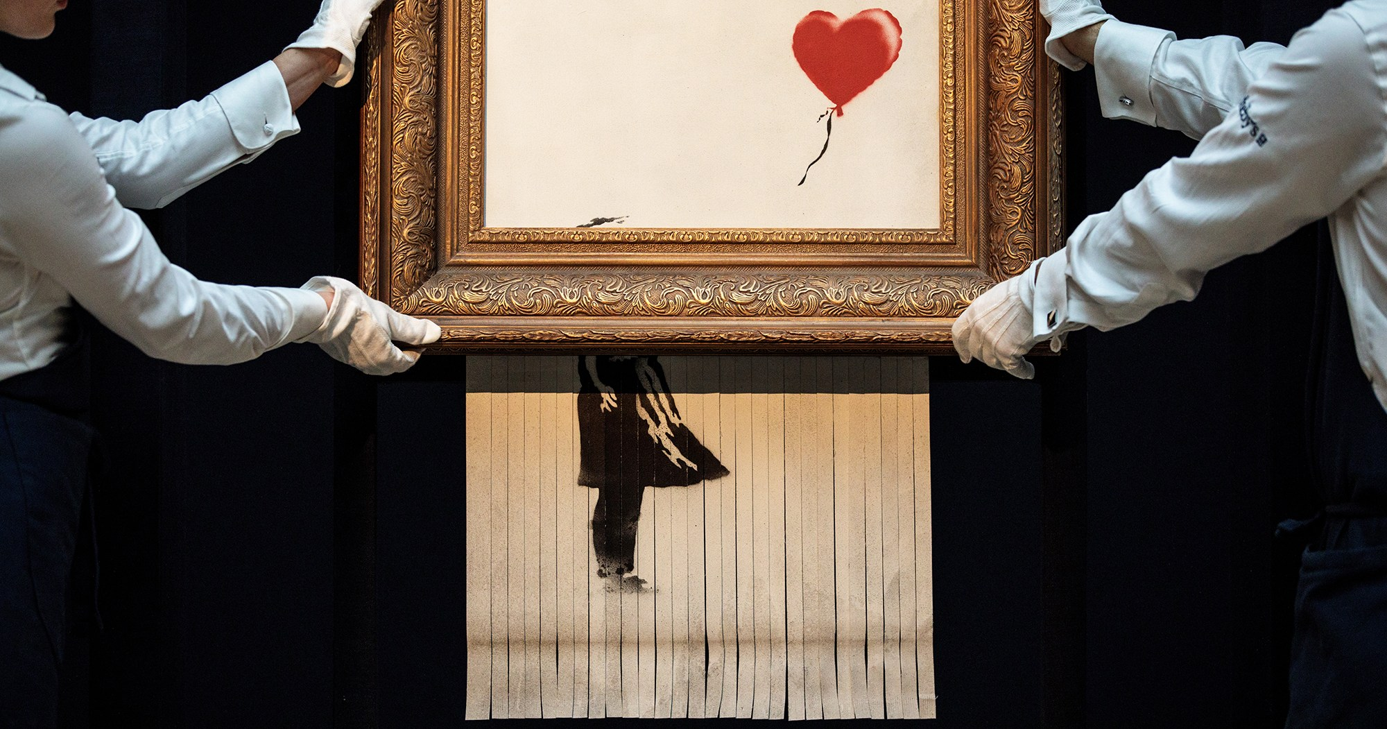 Buyer of Shredded $1.4 Million Banksy Painting Moves Forward With Purchase: 'My Own Piece of Art History'