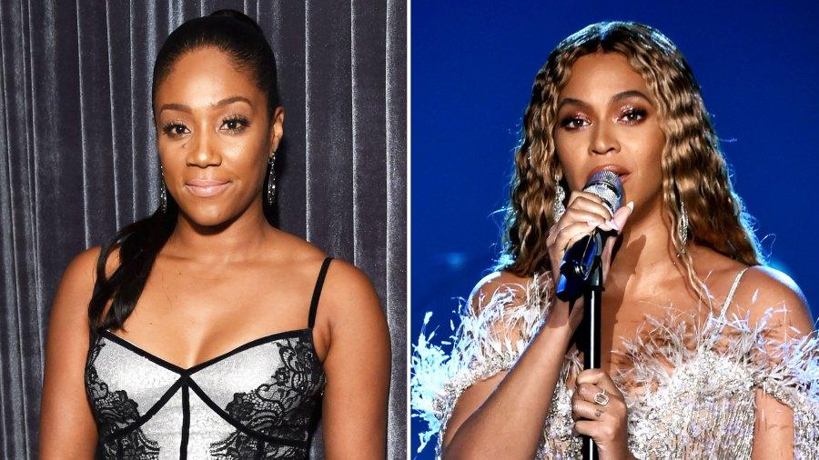 Tiffany Haddish and Beyonce