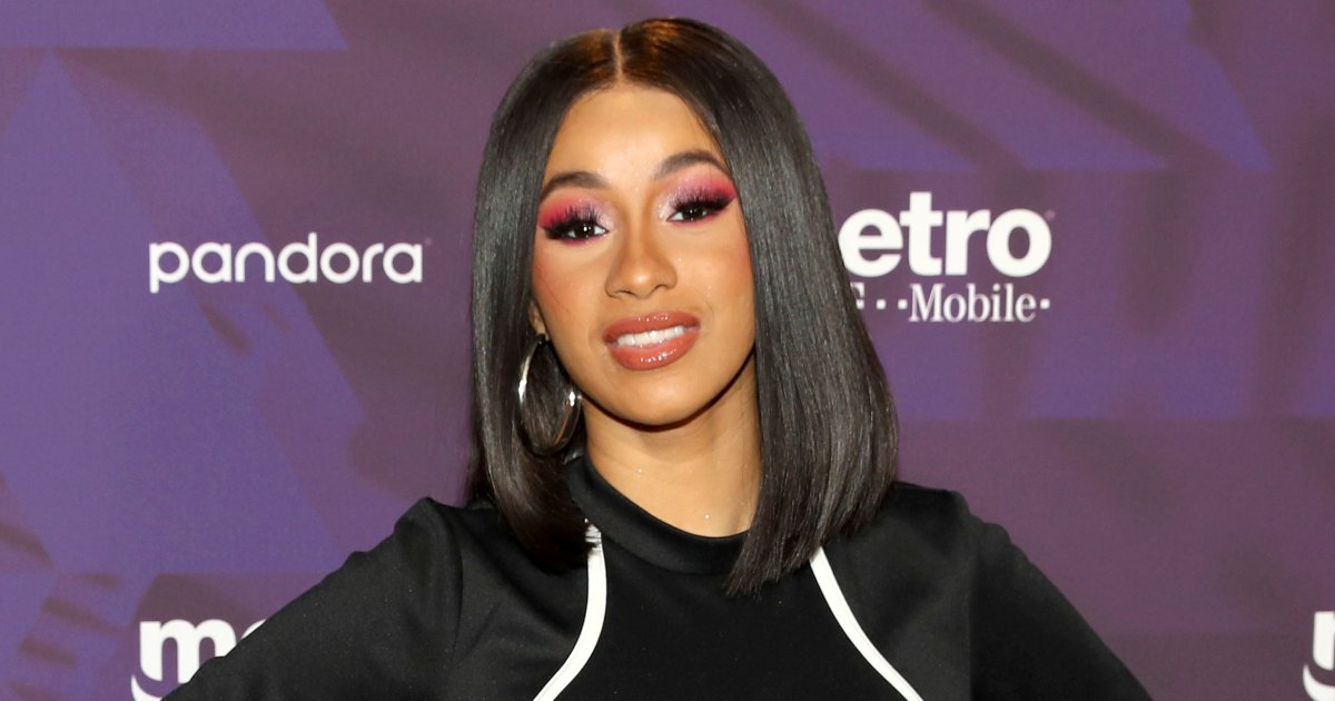 Cardi B Pet: Cardi B Poses In Thong 4 Months After Giving Birth To Kulture