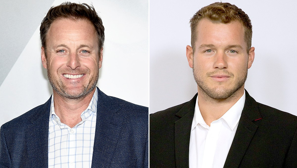 Chris Harrison and Colton Underwood virginity