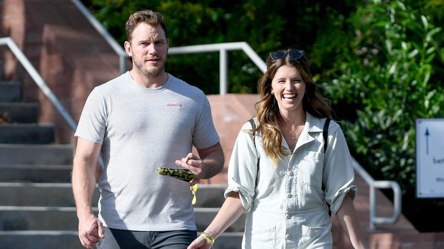 Chris Pratt and Katherine Schwarzenegger dating official