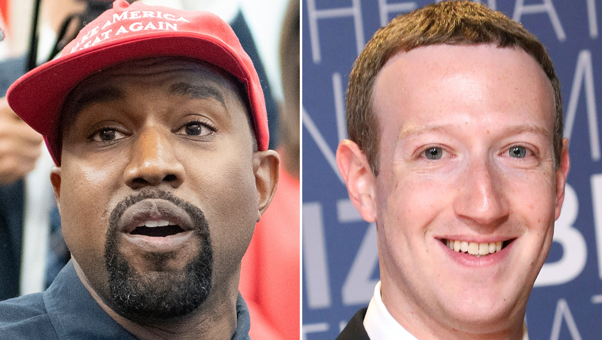 Kanye West Mark Zuckerberg Backstreet Boys