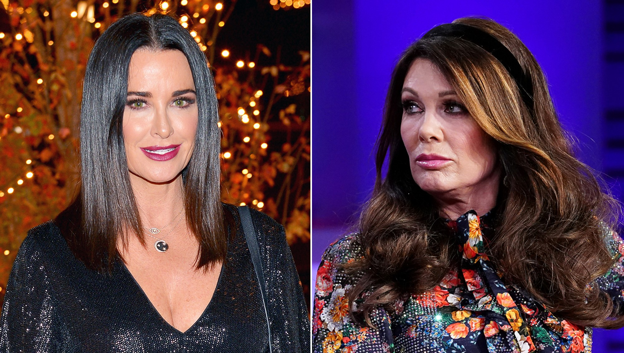 Kyle Richards Talks Drama With Lisa Vanderpump
