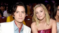 Lili-Reinhart-Takes-Cole-Sprouse-thanksgiving