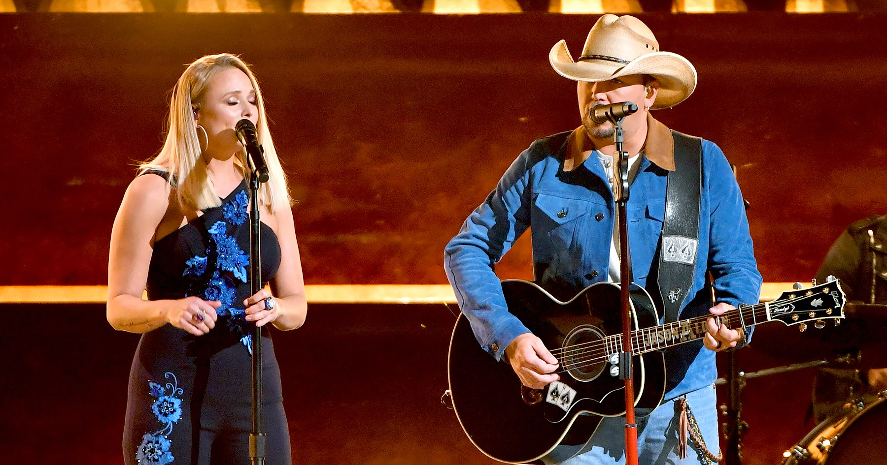 Miranda Lambert Performs With Jason Aldean at the 2018 CMAs After Slamming Sexism in Country Music