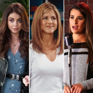 Sarah Hyland, Jennifer Aniston and Rachel Berry