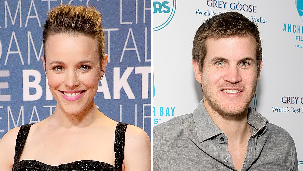 Rachel McAdams and Jamie Linden son