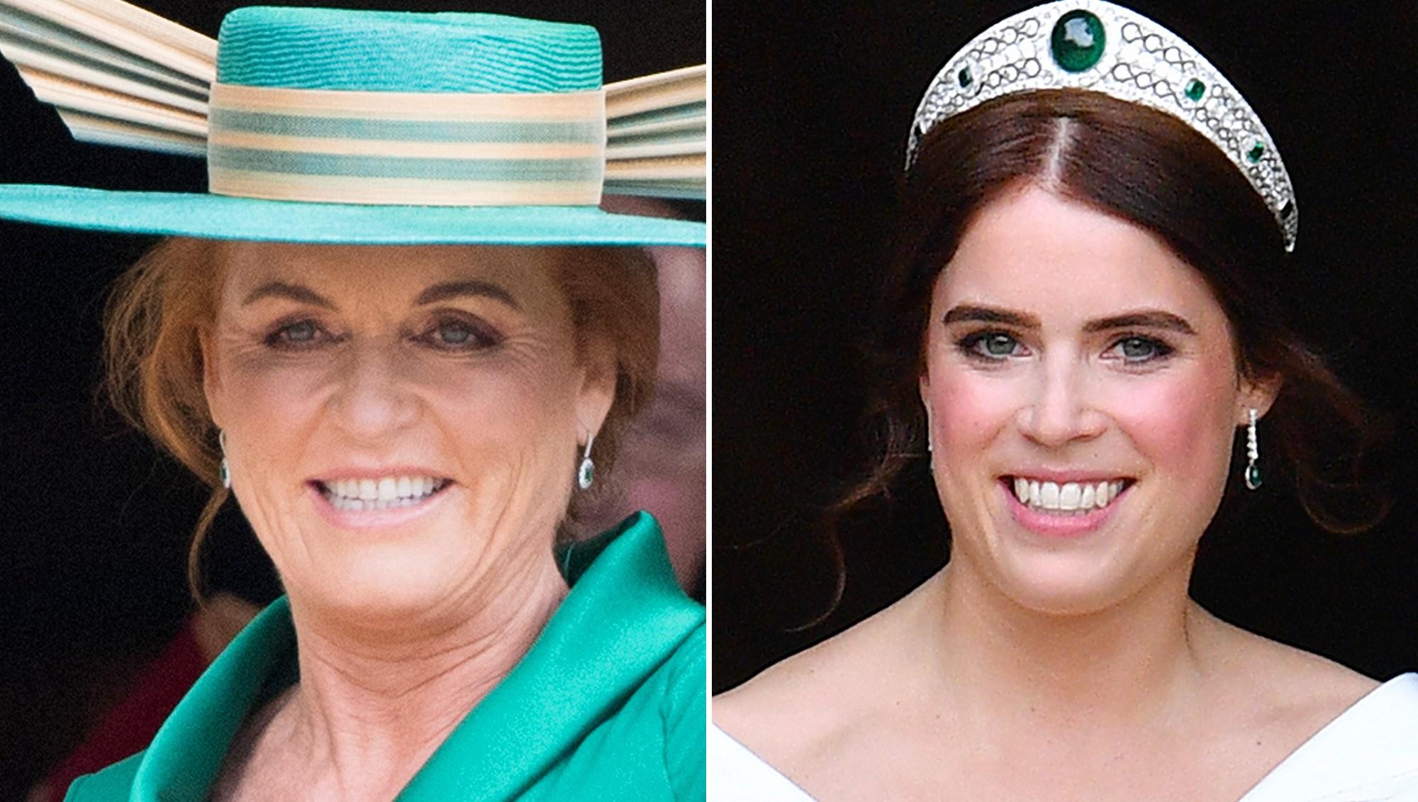 Sarah Duchess of York, Princess Eugenie, Fergie, Wedding, Princess Diana