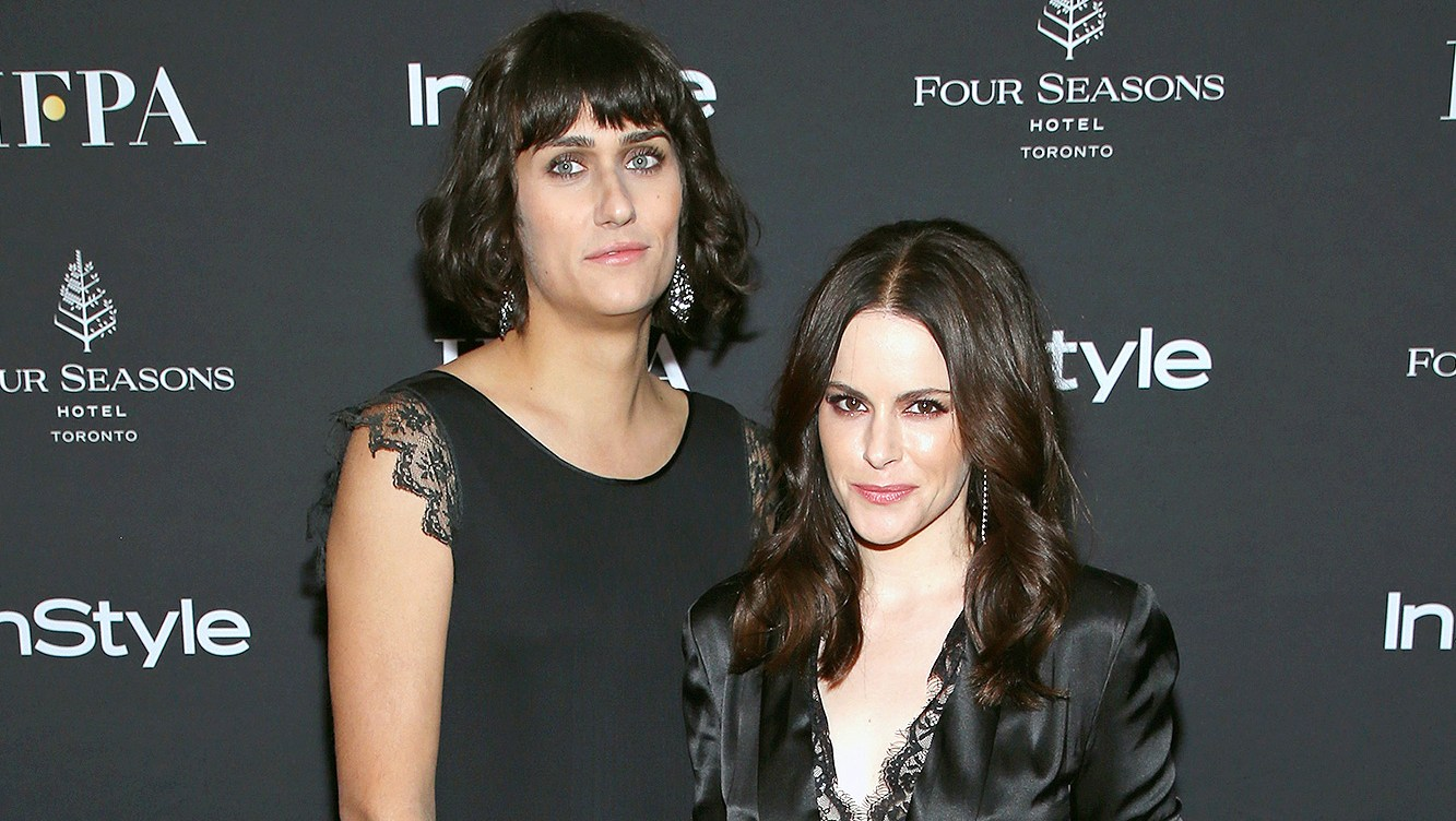 Teddy Geiger, Emily Hampshire, Engaged
