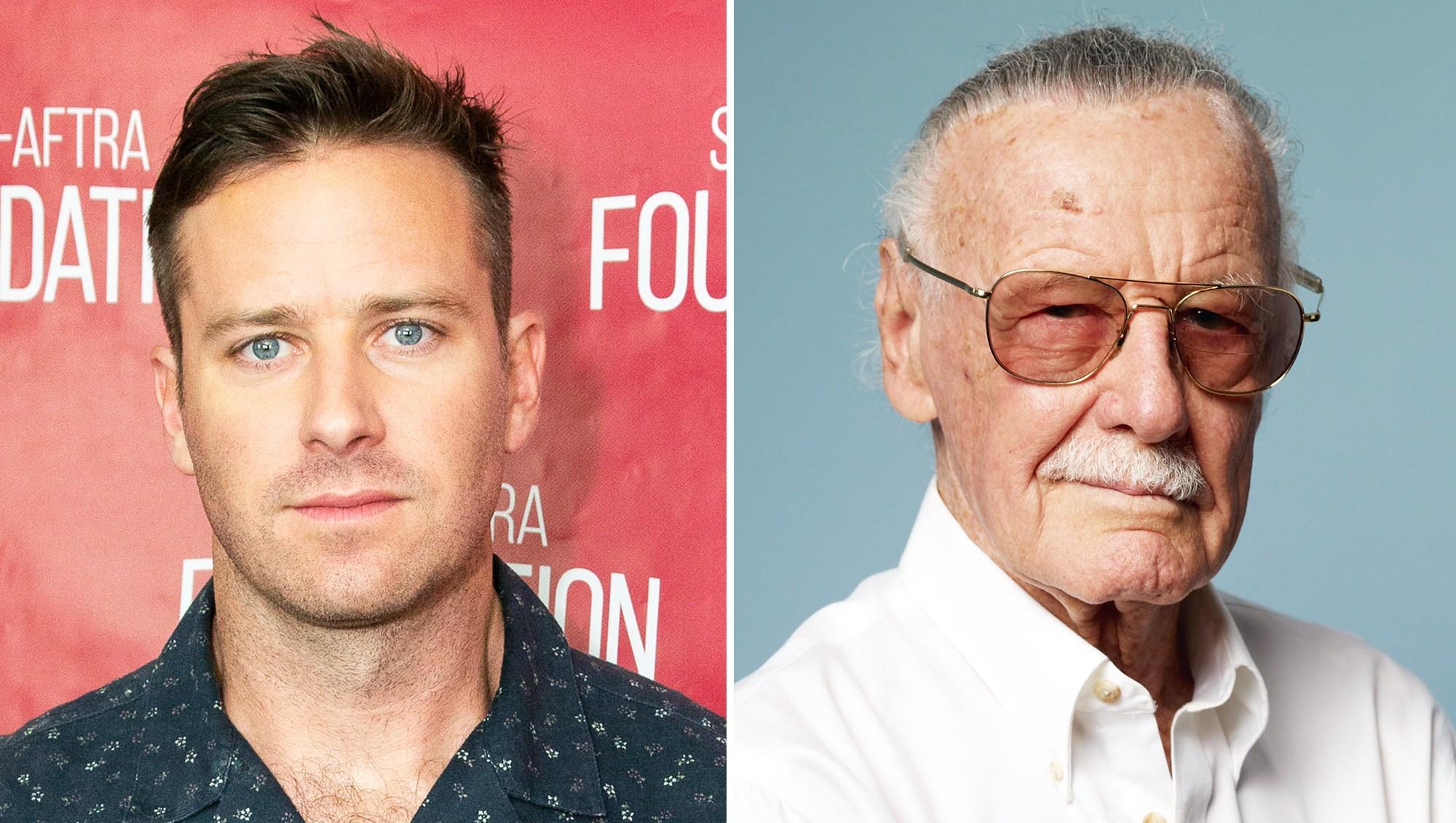 Armie Hammer Stan Lee Tribute Criticism Backfires