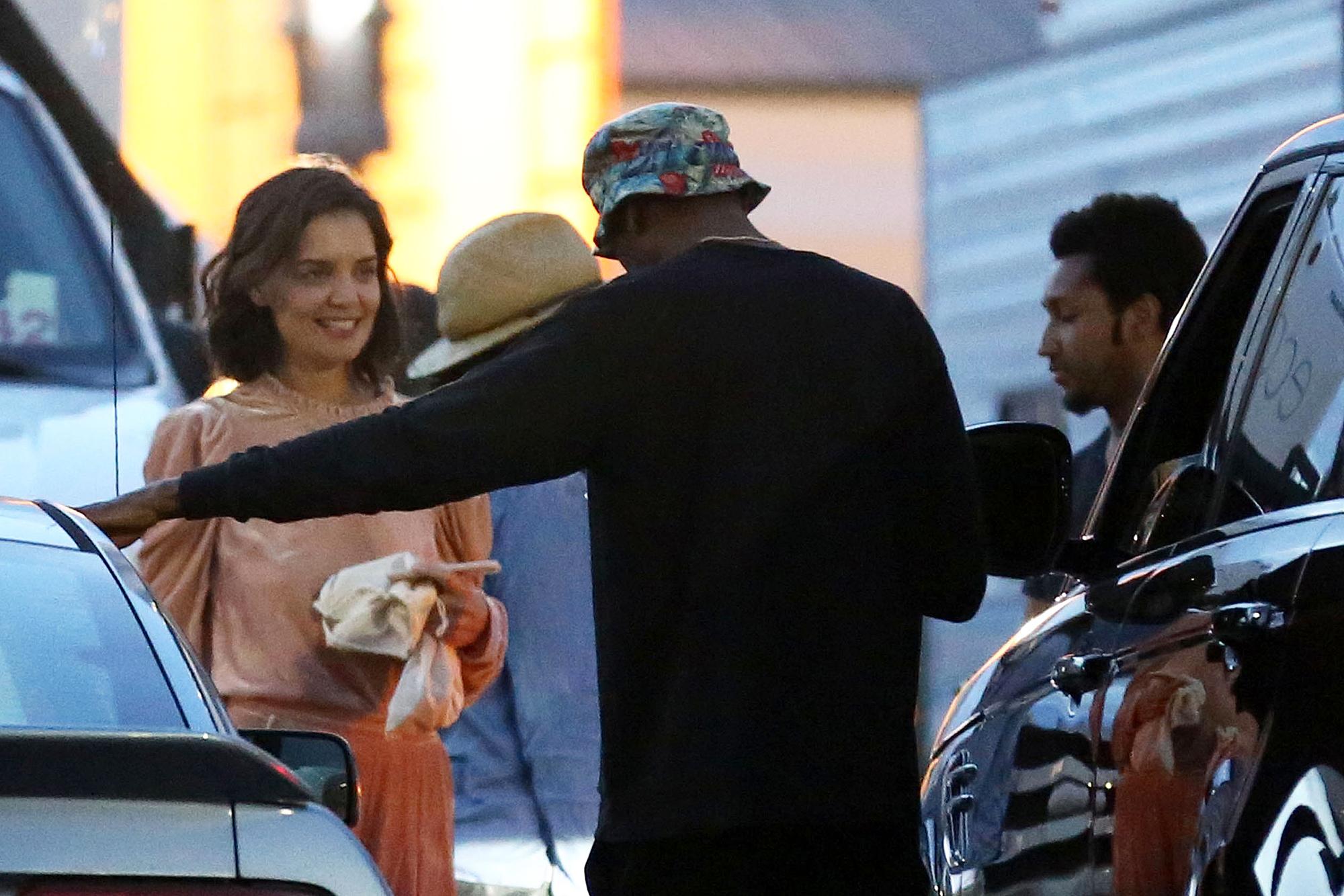 Katie Holmes Jamie Foxx Enjoy Dinner Date In New Orleans