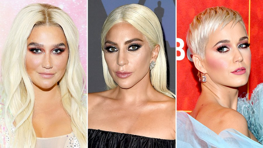 Kesha, Lady Gaga, and Katy Perry