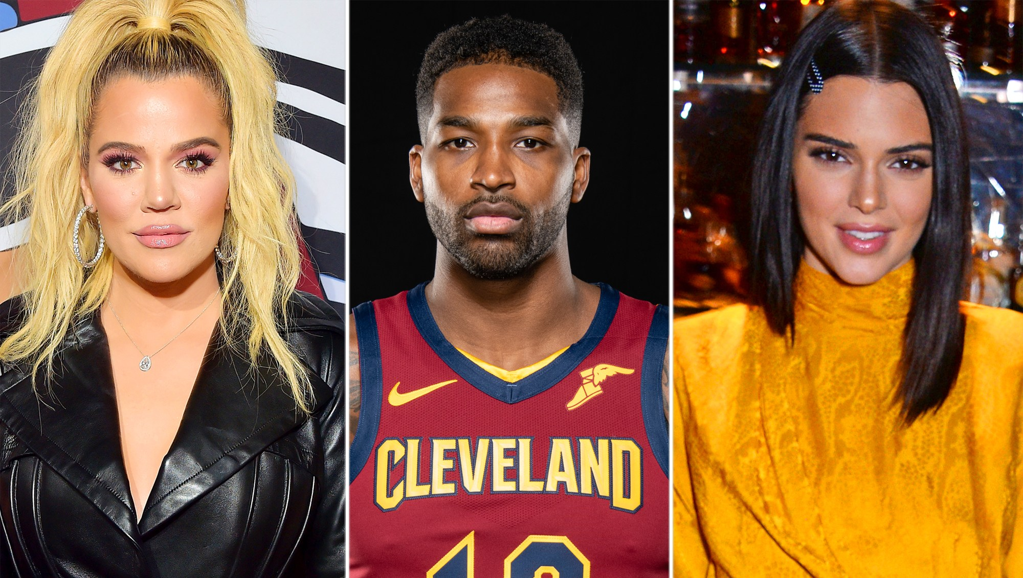 Khloe Kardashian, Tristan Thompson, Kendall Jenner
