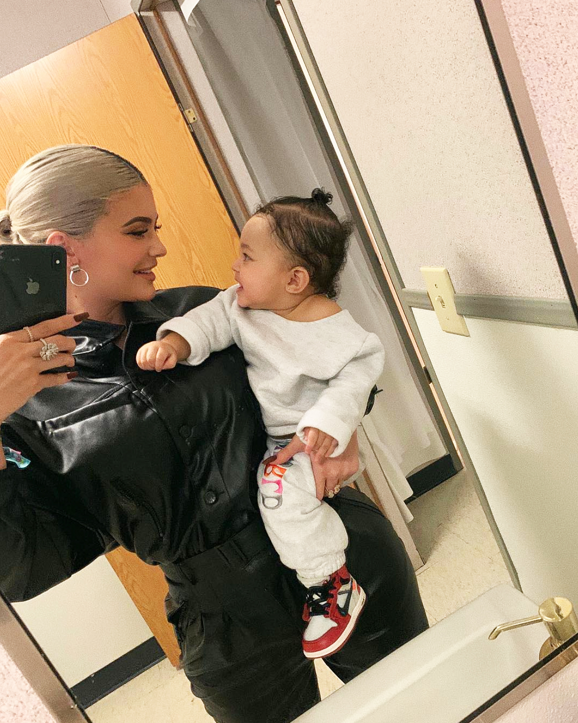 Kylie Jenner's Daughter Stormi Says 'Dada' in Sweet Video
