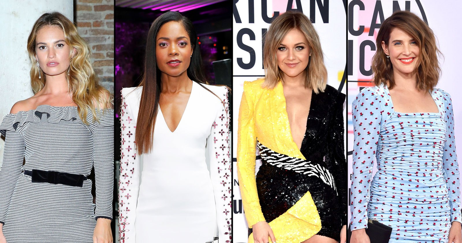 Short Dress, Long Sleeves! See 10 Top Celeb Red Carpet Trendy Party Dresses