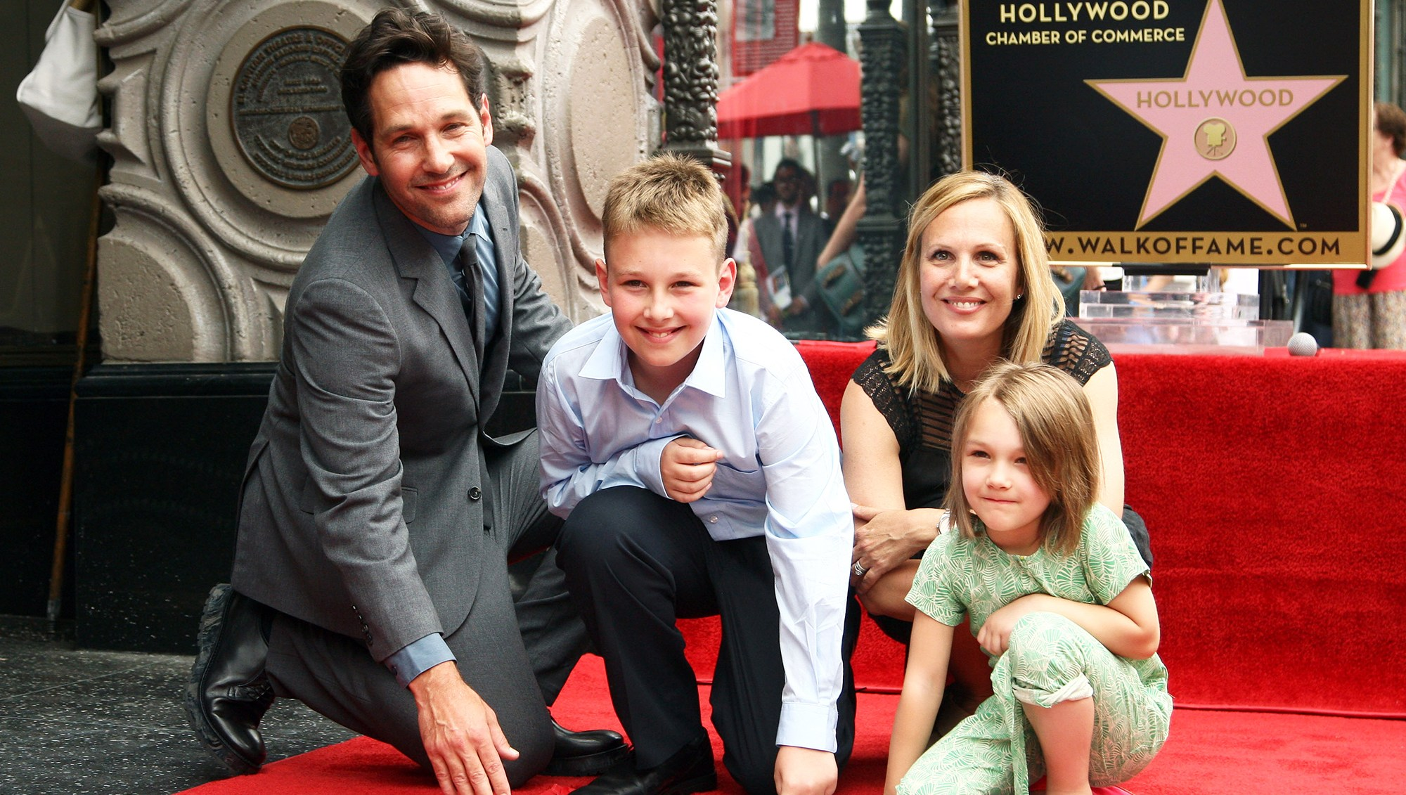 paul rudd Family Holiday
