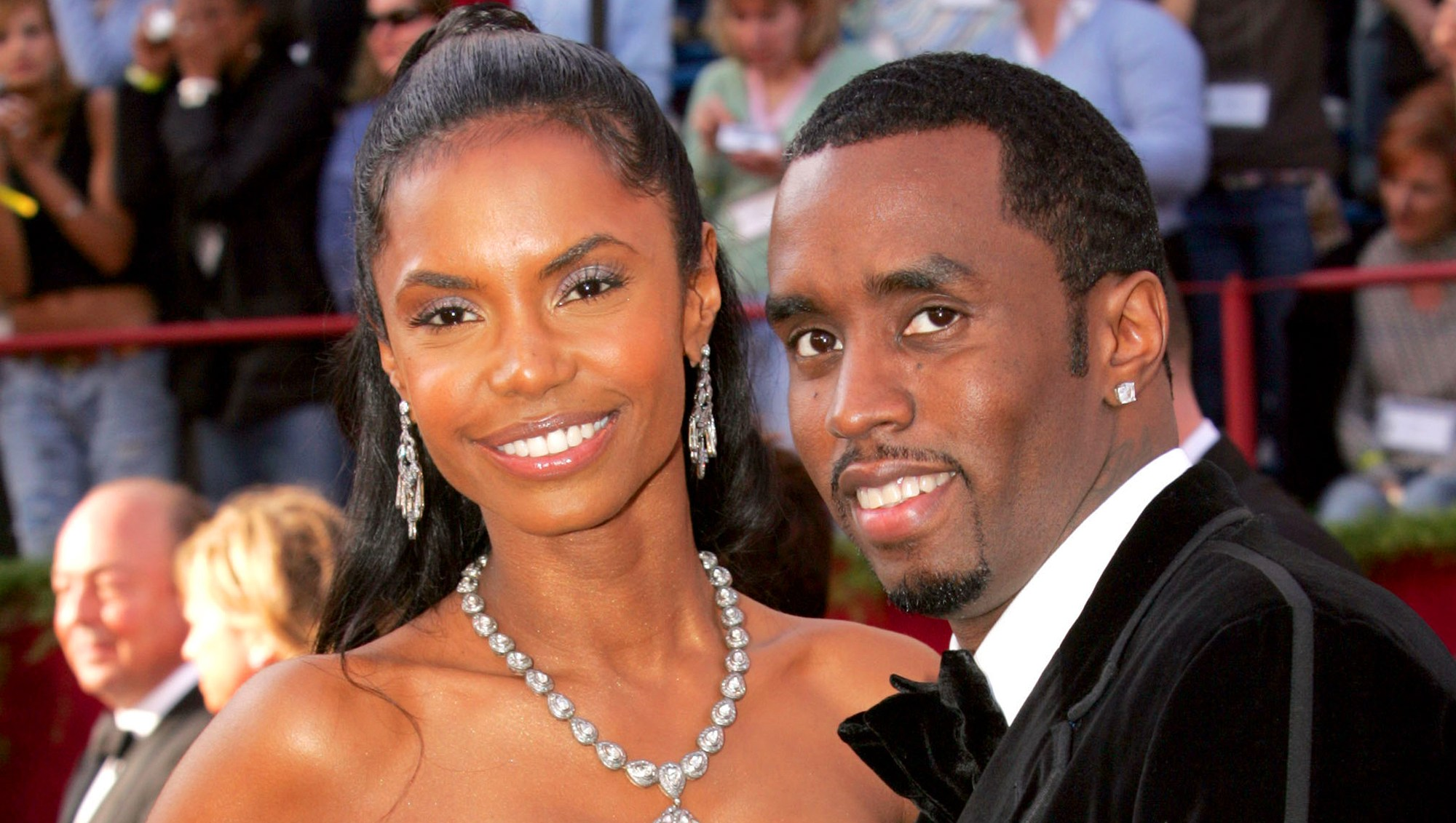 "Kim Porter and Sean ""P. Diddy"" Combs"
