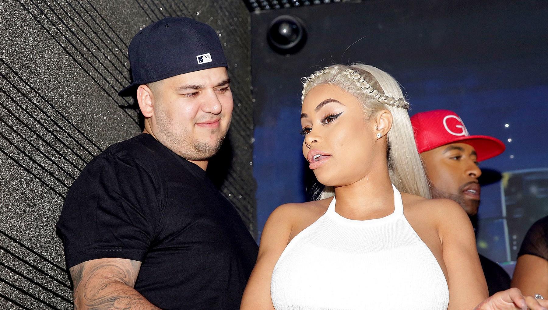 Rob Kardashian and Blac Chyna child support