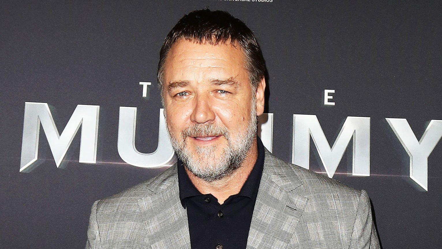 Russell Crowe Weight Gain Bald